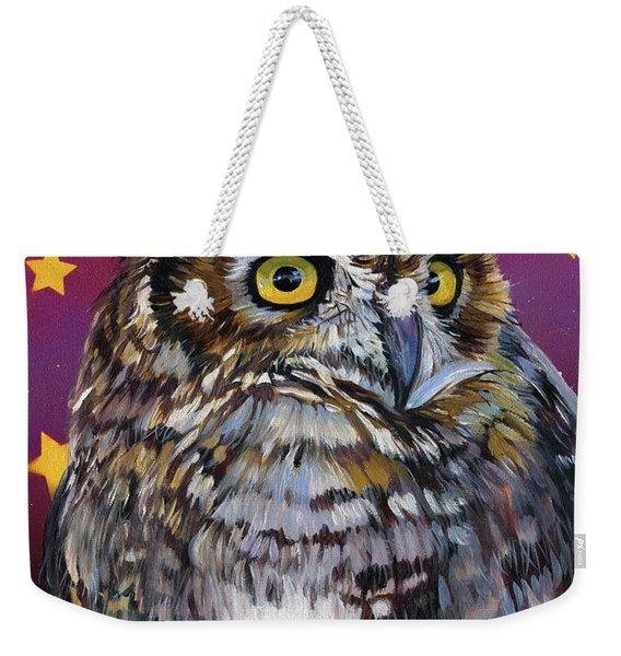 Who Knew Weekender Tote Bag