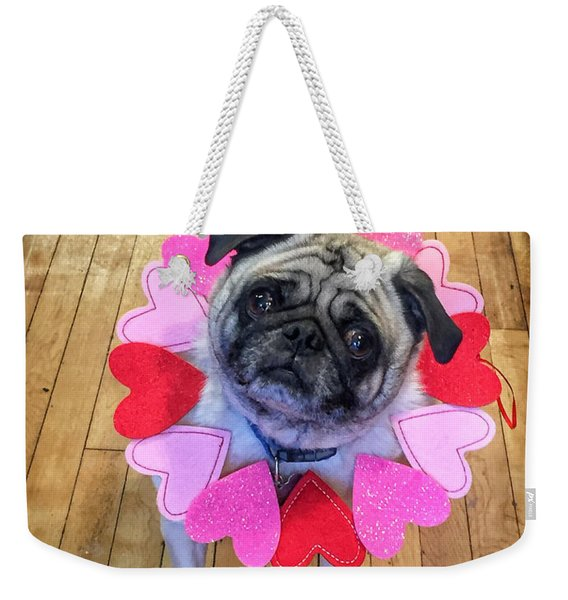 Who Loves Ya Baby Weekender Tote Bag