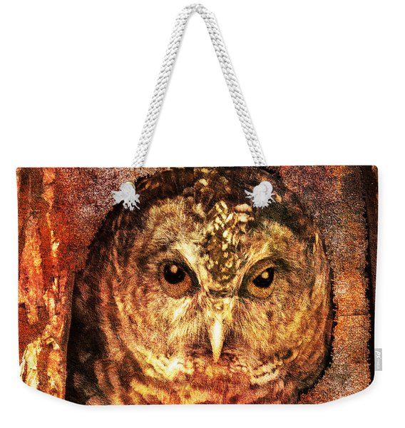 Who Whoo Yoo 2015 Weekender Tote Bag