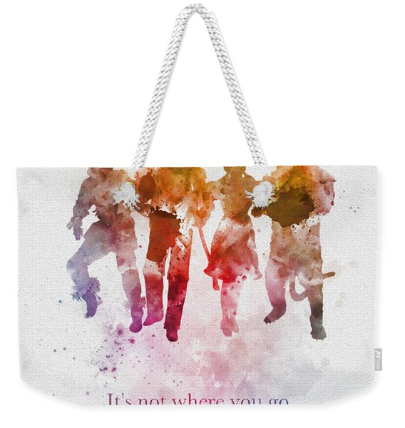 Who You Meet Along The Way Weekender Tote Bag