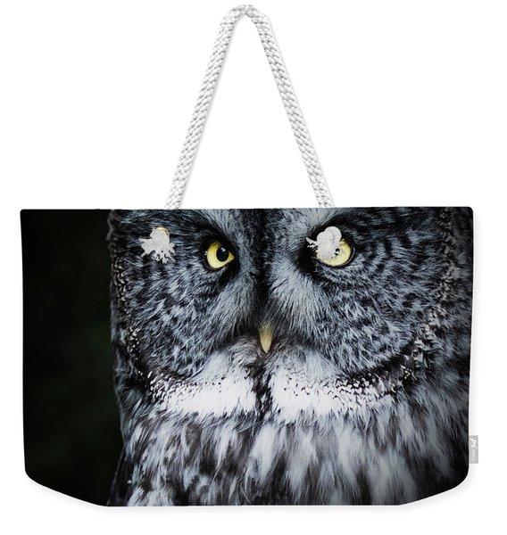 Whooo Are You Looking At? Weekender Tote Bag