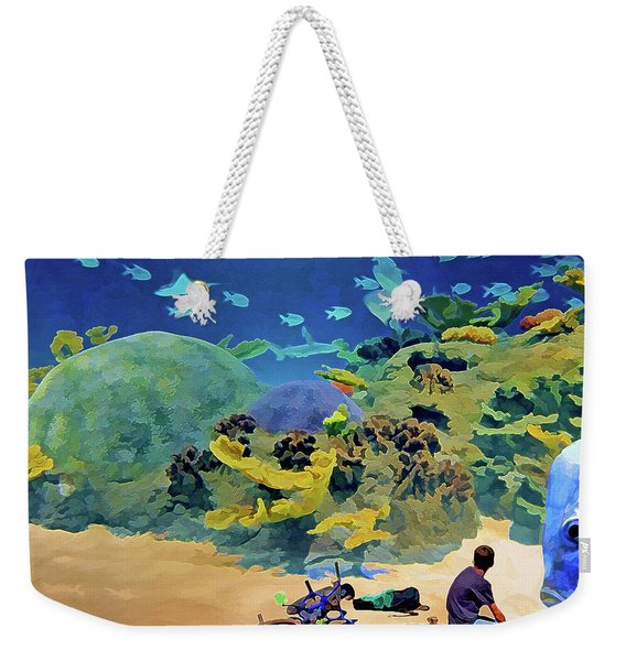 Who's Fishing? Weekender Tote Bag