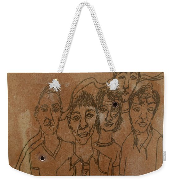 Why Do I Have To Be Famous Radiohead Weekender Tote Bag