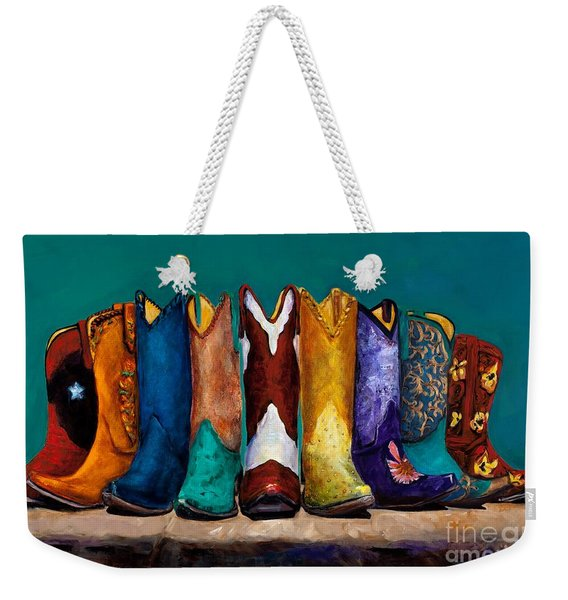 Why Real Men Want To Be Cowboys 2 Weekender Tote Bag