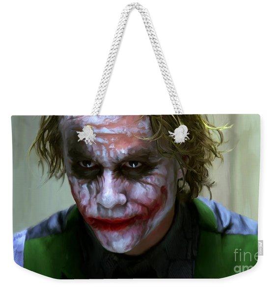 Why So Serious Weekender Tote Bag