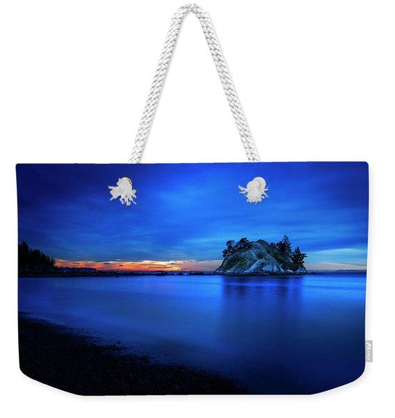 Whytecliff Sunset Weekender Tote Bag