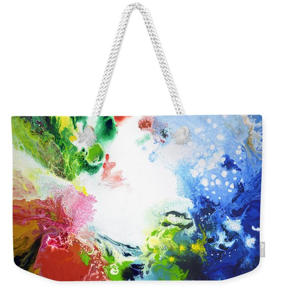 Wide Open Weekender Tote Bag