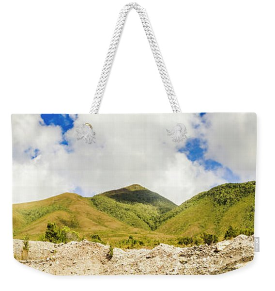 Wide West Coast Of Tasmania Weekender Tote Bag