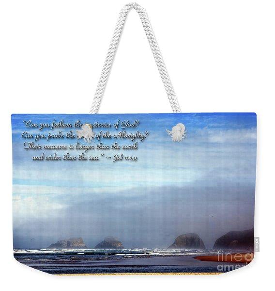 Wider Than The Sea Weekender Tote Bag