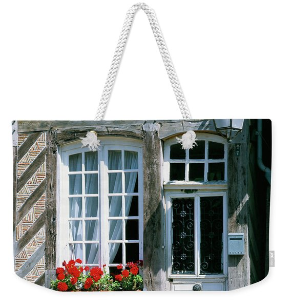 Widow And Door,normandy France Weekender Tote Bag