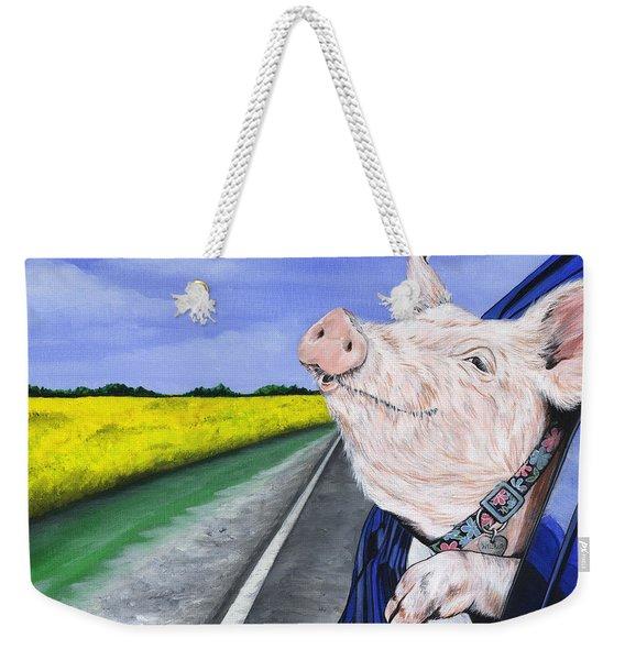 Wilbur Weekender Tote Bag