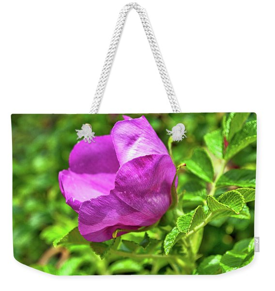 Wild Alaskan Rose Weekender Tote Bag