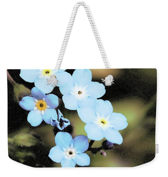 Wild And Beautiful 6 Weekender Tote Bag
