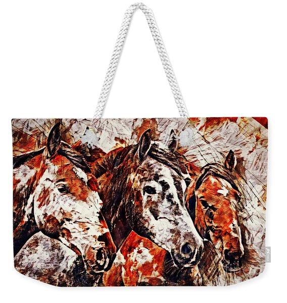Wild And Free Weekender Tote Bag