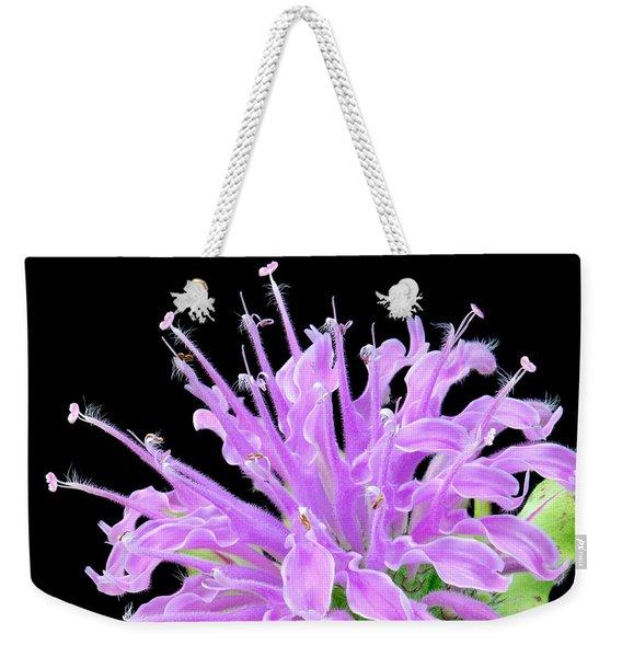 Wild Bergamot Also Known As Bee Balm Weekender Tote Bag
