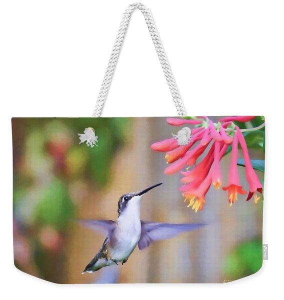 Wild Birds - Hummingbird Art Weekender Tote Bag