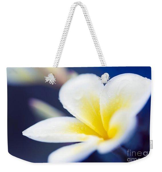 Wild Blue Morning Weekender Tote Bag