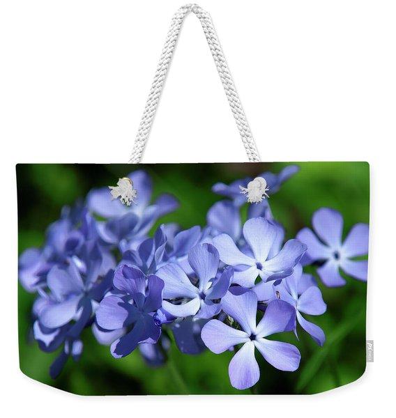 Wild Blue Phlox Dspf0391 Weekender Tote Bag