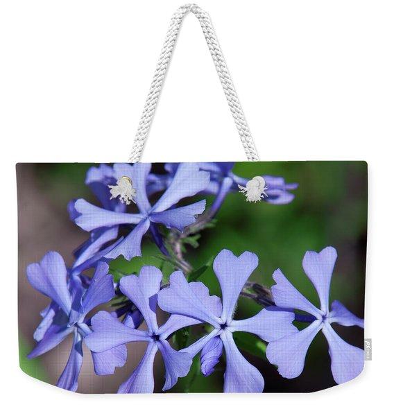 Wild Blue Phlox Dspf0392 Weekender Tote Bag