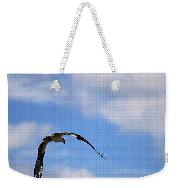 Wild Blue Yonder Weekender Tote Bag