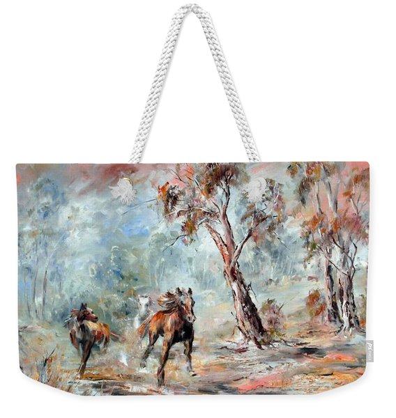 Wild Brumbies Weekender Tote Bag