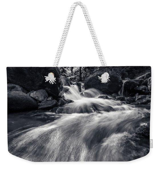 wild creek in Harz, Germany Weekender Tote Bag