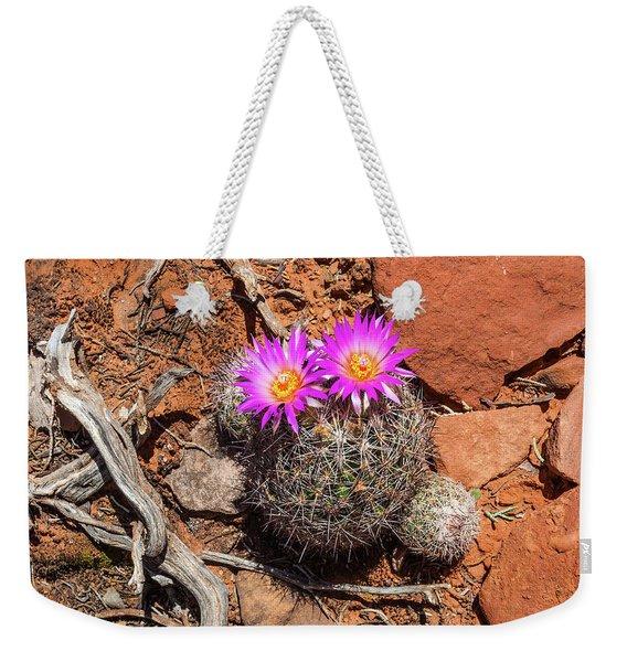 Wild Eyed Cactus Weekender Tote Bag