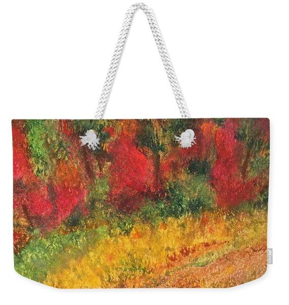 Wild Fire Weekender Tote Bag