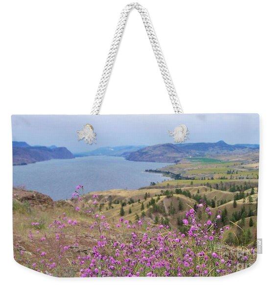 Wild Flower Country Weekender Tote Bag
