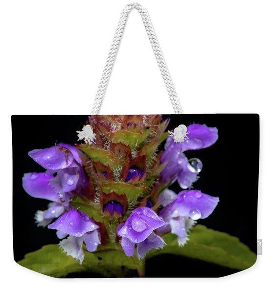 Wild Flower Portrait Weekender Tote Bag