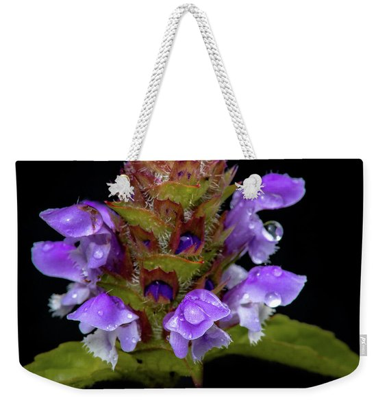 Wild Flower Portrait Weekender Tote Bag