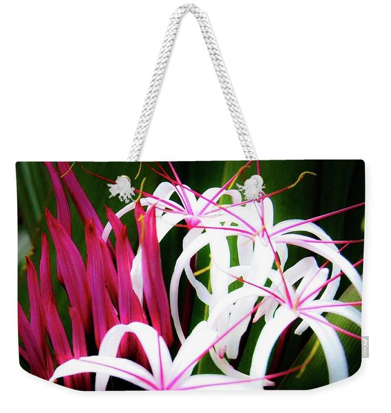 Wild Flowers In Hawaii Weekender Tote Bag