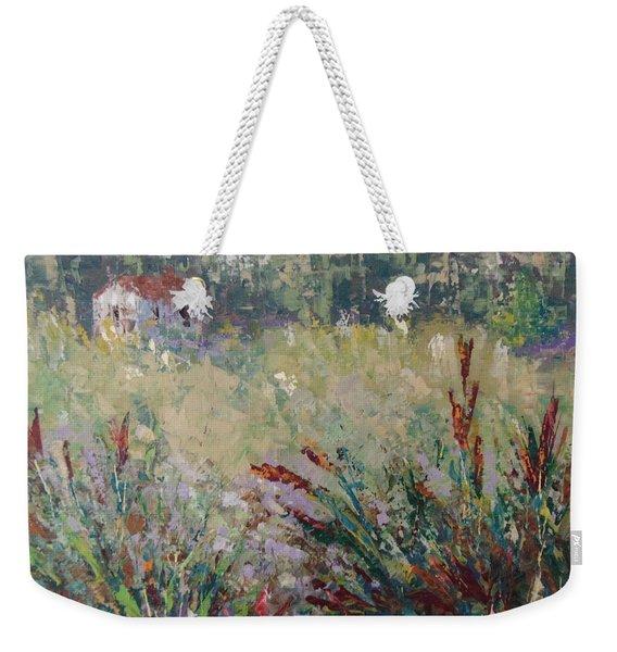 Wild Flowers Of Provence Weekender Tote Bag