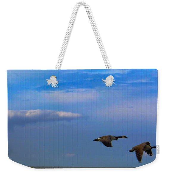 Wild Goose Chase Weekender Tote Bag