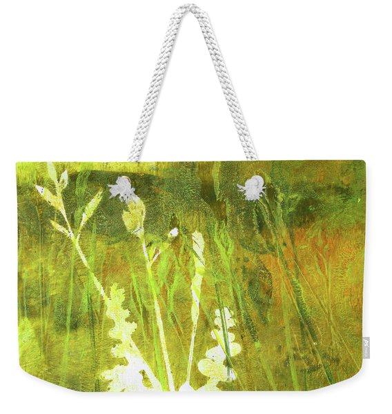 Wild Grass 7 Weekender Tote Bag