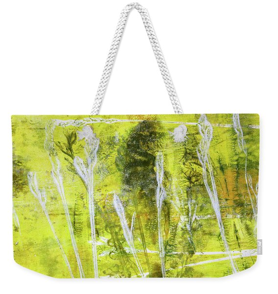 Wild Grass 8 Weekender Tote Bag