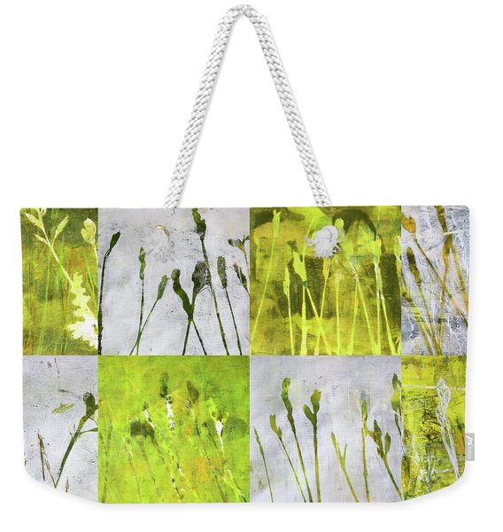 Wild Grass Collage 3 Weekender Tote Bag