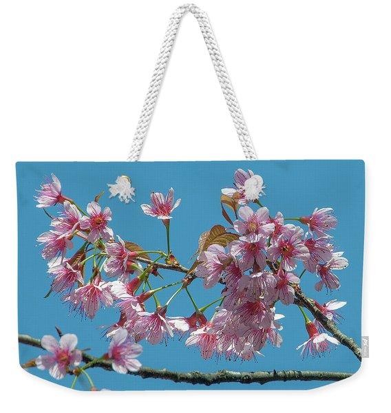 Wild Himalayan Cherry Dthn0220 Weekender Tote Bag