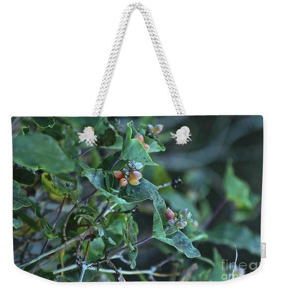 Wild Honeysuckle Weekender Tote Bag