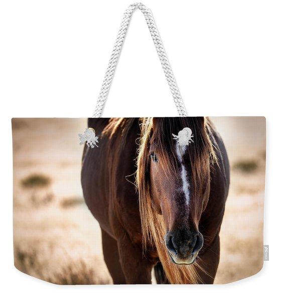 Wild Horse Watching Weekender Tote Bag