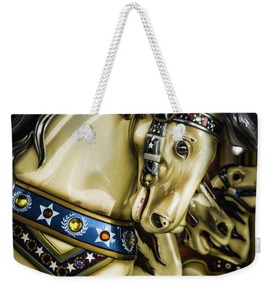 Wild Horses Ride Weekender Tote Bag