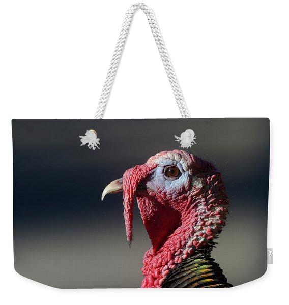 Wild Merriams Turkey Portrait  Weekender Tote Bag