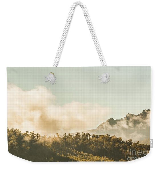 Wild Morning Peak Weekender Tote Bag