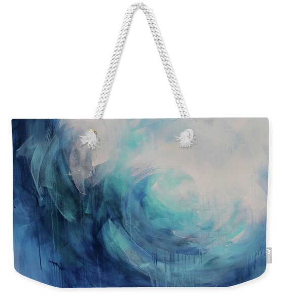 Wild Ocean Weekender Tote Bag