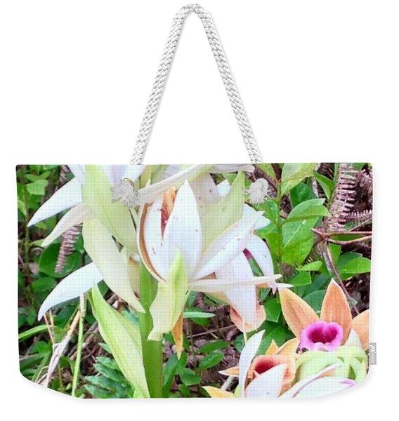 Wild Orchids In Pastel 2 Weekender Tote Bag