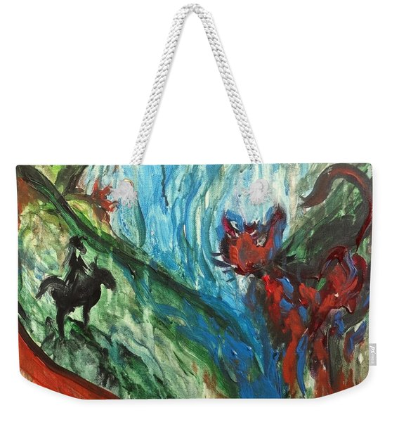 Wild Periscope Collaboration Weekender Tote Bag