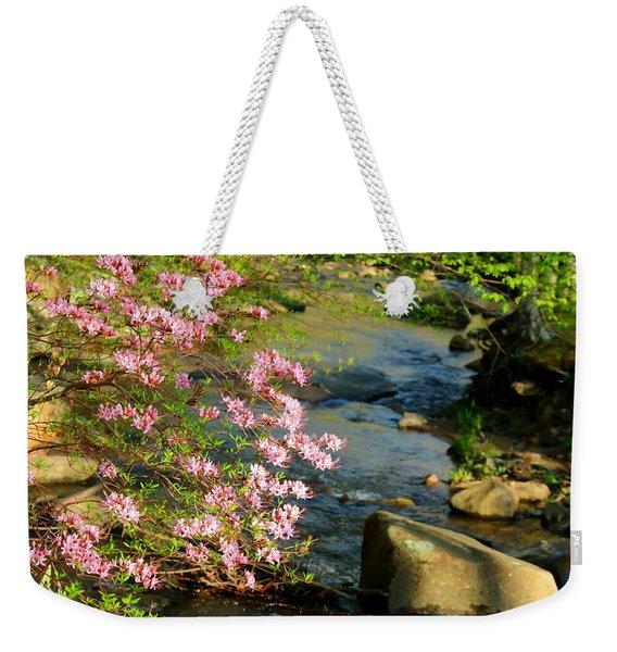 Wild Piedmont Azalea 4 Weekender Tote Bag