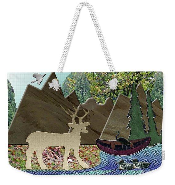 Wild Rural Animals Weekender Tote Bag