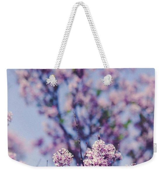 Wild Spring Lilacs Weekender Tote Bag