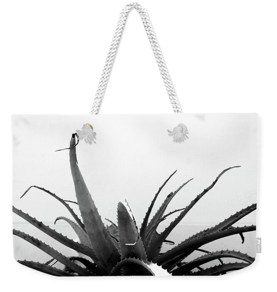 Wild Succulent-  By Linda Woods Weekender Tote Bag